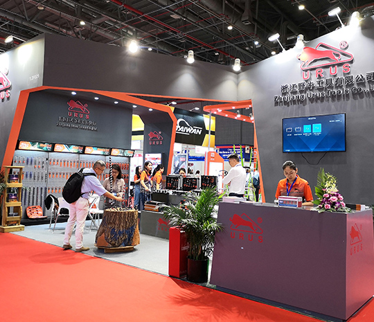 We are at the Shanghai International Hardware Show 2019